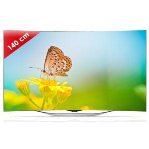 lg 55ec930v tv oled design incurv 55 pouces technologie 3d smart tv pas cher achat. Black Bedroom Furniture Sets. Home Design Ideas