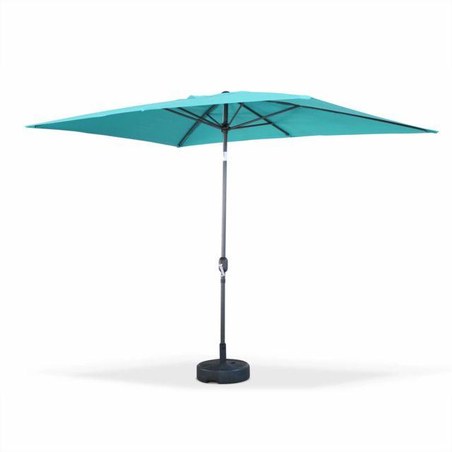 alice 39 s garden parasol droit rectangulaire 2x3m. Black Bedroom Furniture Sets. Home Design Ideas