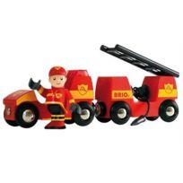 Brio2 - Véhicule De Pompier Son Et Lumiere