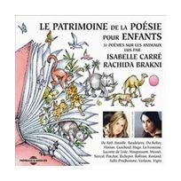 Fremeaux & Associes - Le Patrimoine De La Poesie Pour Enfants