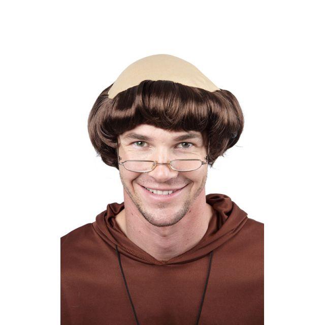 Perruque de moine homme - taille - Taille