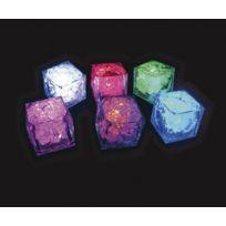 Action Fluo - Cubes Lumineux Diamant Mix-Couleurs x1