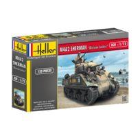 Heller - Maquette char : M4A2 Sherman Division Leclerc