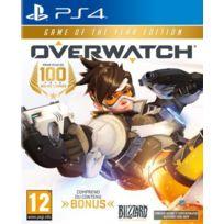 Blizzard - Jeu PS4 OVERWATCH GOTY