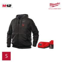 4933451613 Chauffant 0 M12 L Bl2 Hh Milwaukee Sweat Taille Noir aqOAw