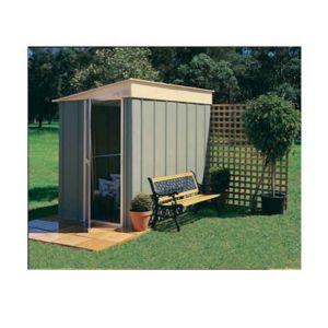 treco abri de jardin en m tal adossable 2 84 m2 colorbond trmgsc65ltex pas cher achat. Black Bedroom Furniture Sets. Home Design Ideas
