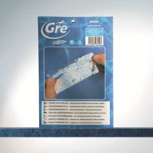 Gré - Gre Pools - Kit réparation waterproof 5 patchs préencollés