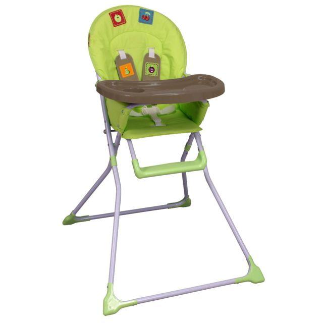 looping chaise haute pliante kiwi pas cher achat. Black Bedroom Furniture Sets. Home Design Ideas
