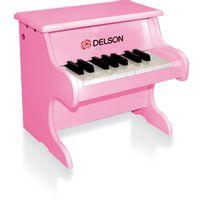 DELSON - Piano pour bébé rose - 18 touches - 1822P