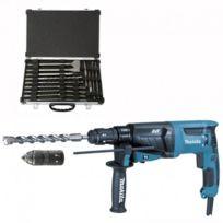 Makita - Marteau perforateur-burineur Hr2631FT12 pour Sds-plus + Coffret D-42444