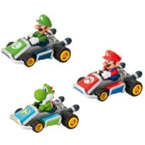 Pull and Speed - Pack 3 Voitures Mario Kart 7