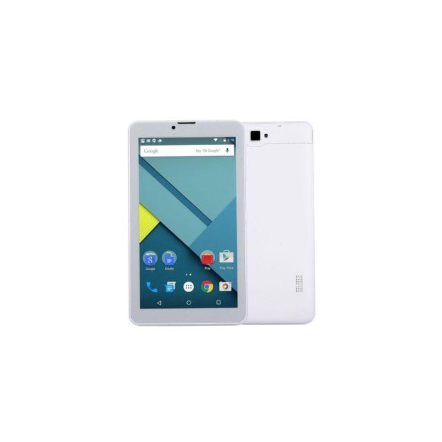 Auto-hightech Tablette Pc téléphone mobile 3G, 7.0 pouces, 1Go+8Go, Android 5.1 ,Quad Core Cortex A7 jusqu'à 1.2GHz, Gps, WiFi, Bt bla