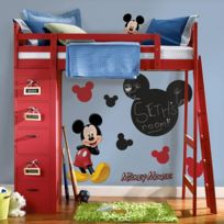 Room Mates - Stickers ardoise Mickey Mouse Disney