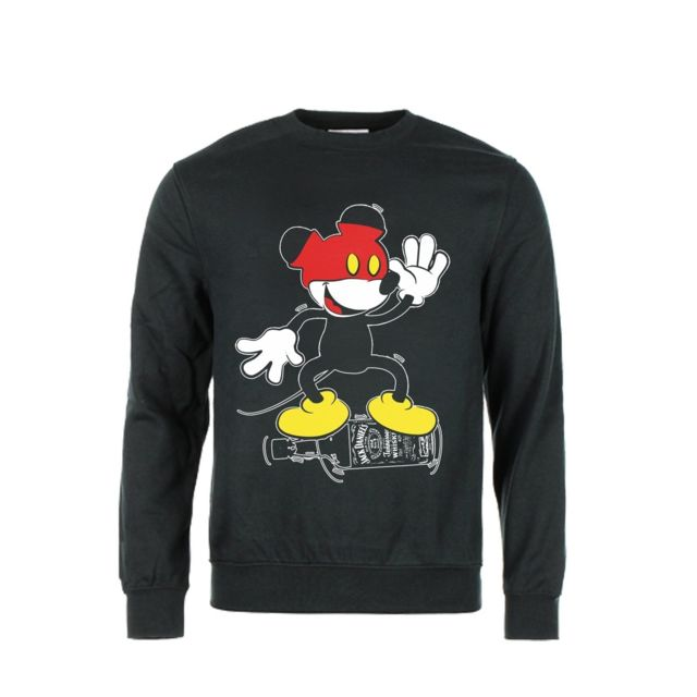 Mickey Swag Sweat Col Rond Mickey Drunk