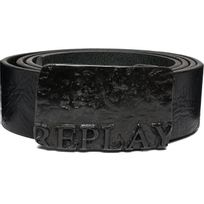 Replay - Ceinture Cuir Boucle Plaque