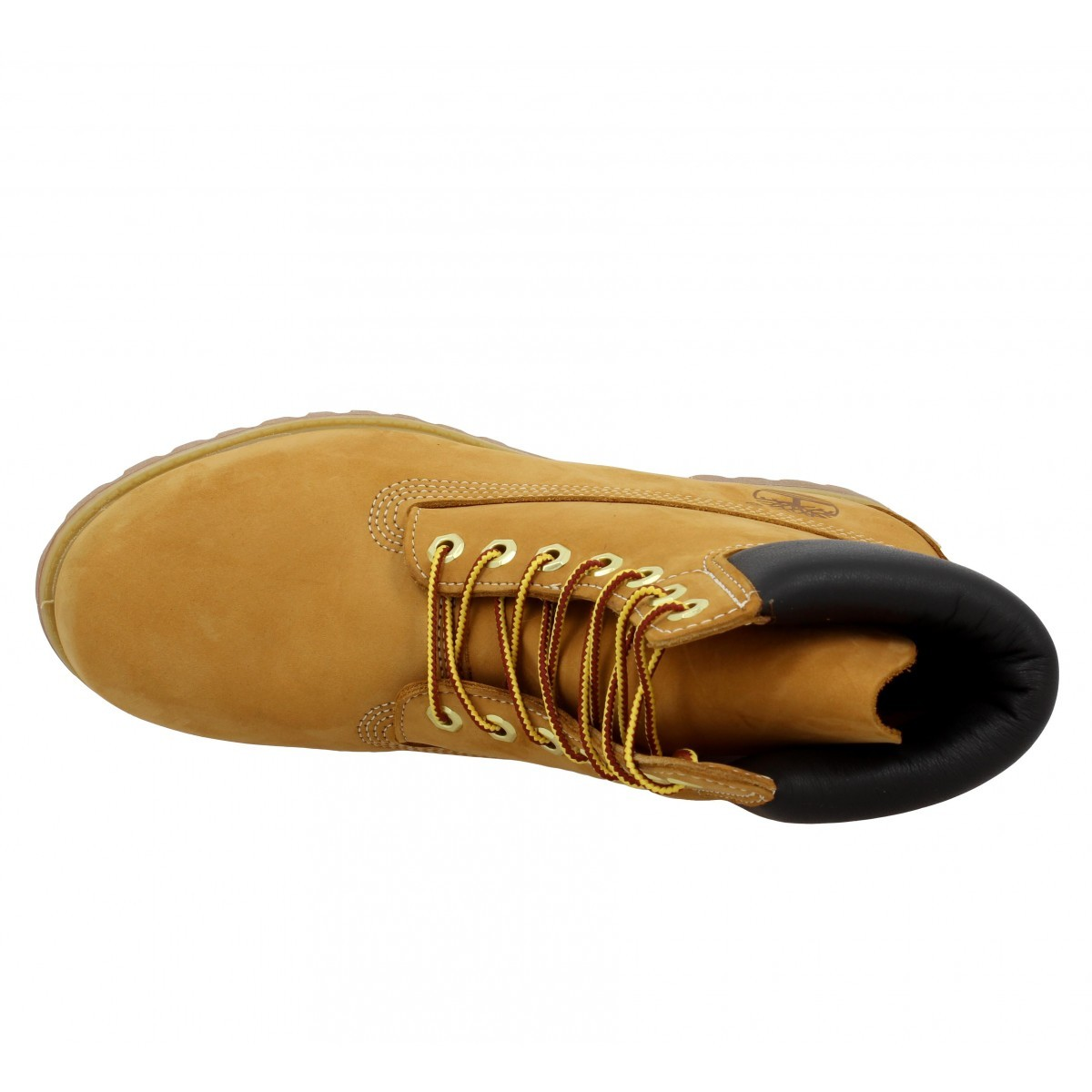 10068 velours Homme-44,5-Ocre
