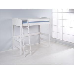lilokids lit mezzanine nele 4106 lit mezzanine volutif hauteur 180 cm blanc laqu 90cm x. Black Bedroom Furniture Sets. Home Design Ideas
