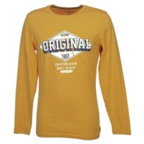 Blend - Tee shirt manches longues Palok mustard yellowmltee Jaune 59103