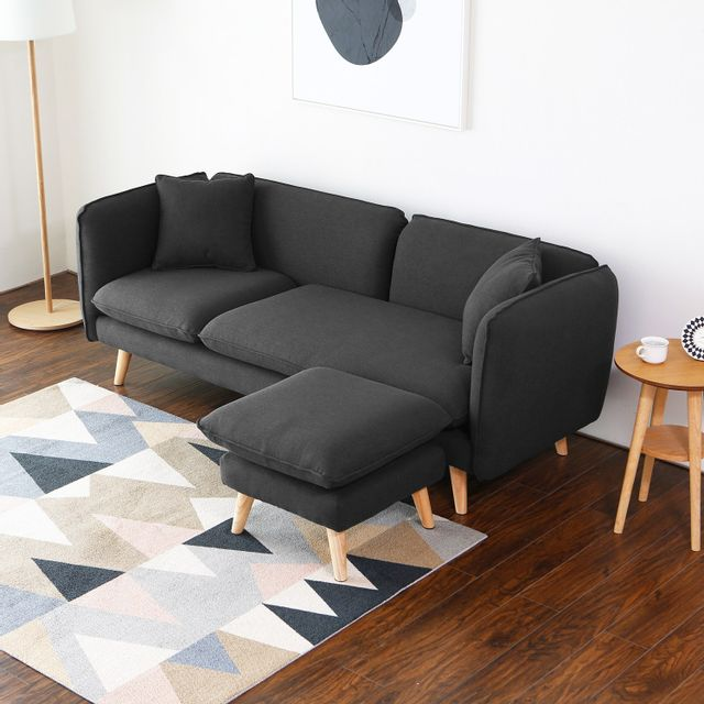 chaise tissu ikea 10680 3 images pouf scandinave. Black Bedroom Furniture Sets. Home Design Ideas