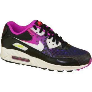 Nike Air Max 90 Mesh Gs 724875-002 Enfant mixte Baskets Noir BzpnCc