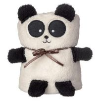 Bio Et Glamour - Couverture bébé Panda 90 x 60 cm