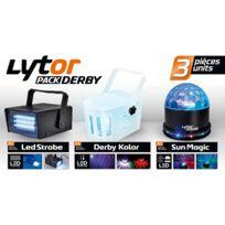 Lytor - Pack de 3 jeux de lumières à Leds Derby