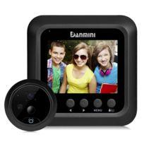 c89445b0ee Wewoo - Interphone vidéo Visiophone noir 2,4 pouces écran 2.0MP caméra de  sécurité