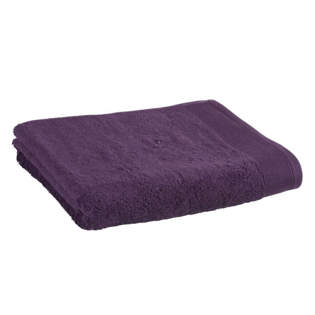 TEX HOME Drap de douche en coton durable Drap de douche en coton durable 70x140 cm - viloet