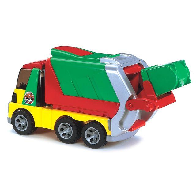 BRUDER Camion poubelle Roadmax 1er age - 20002