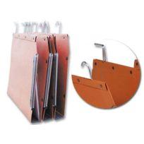 L'oblique - Dossiers suspendus armoires avec tube - Fond 30 mm