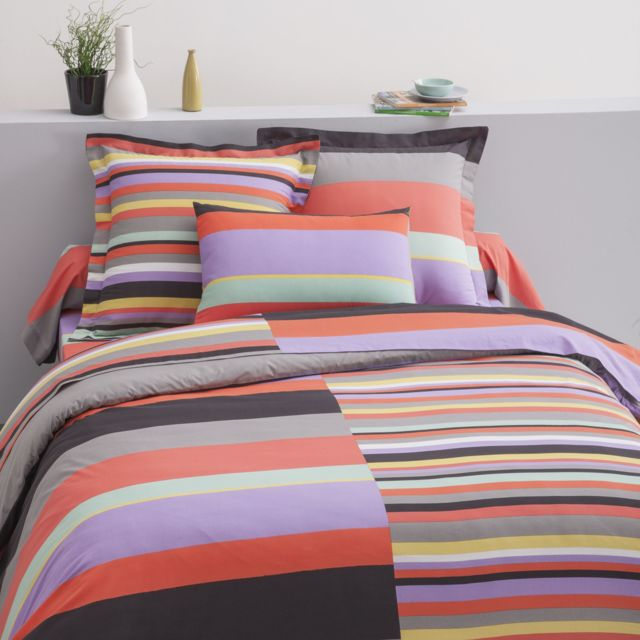 Cotonflor Drap housse Max Multicolore - 140 x 190 cm