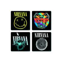 Rock Off - Verres - Nirvana set sous-verres Mixed designs 4