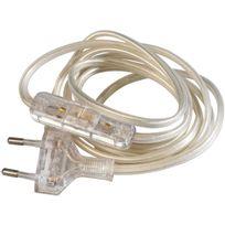 Girard Sudron - Cordon électrique pré-équipé Transparent