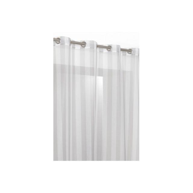 rideaudiscount rideau voilage raye de 240cm de hauteur. Black Bedroom Furniture Sets. Home Design Ideas
