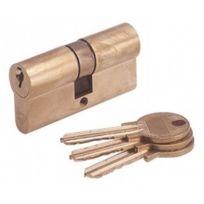 CLEMENT QUINCAILLERIE - CYLEUROP Cylindre européen laiton - Varié - 60 mm 30 + 30
