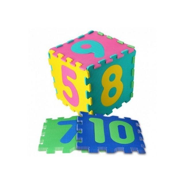 Betoys Tapis d'activités avec chiffres, 10 dalles en mousse