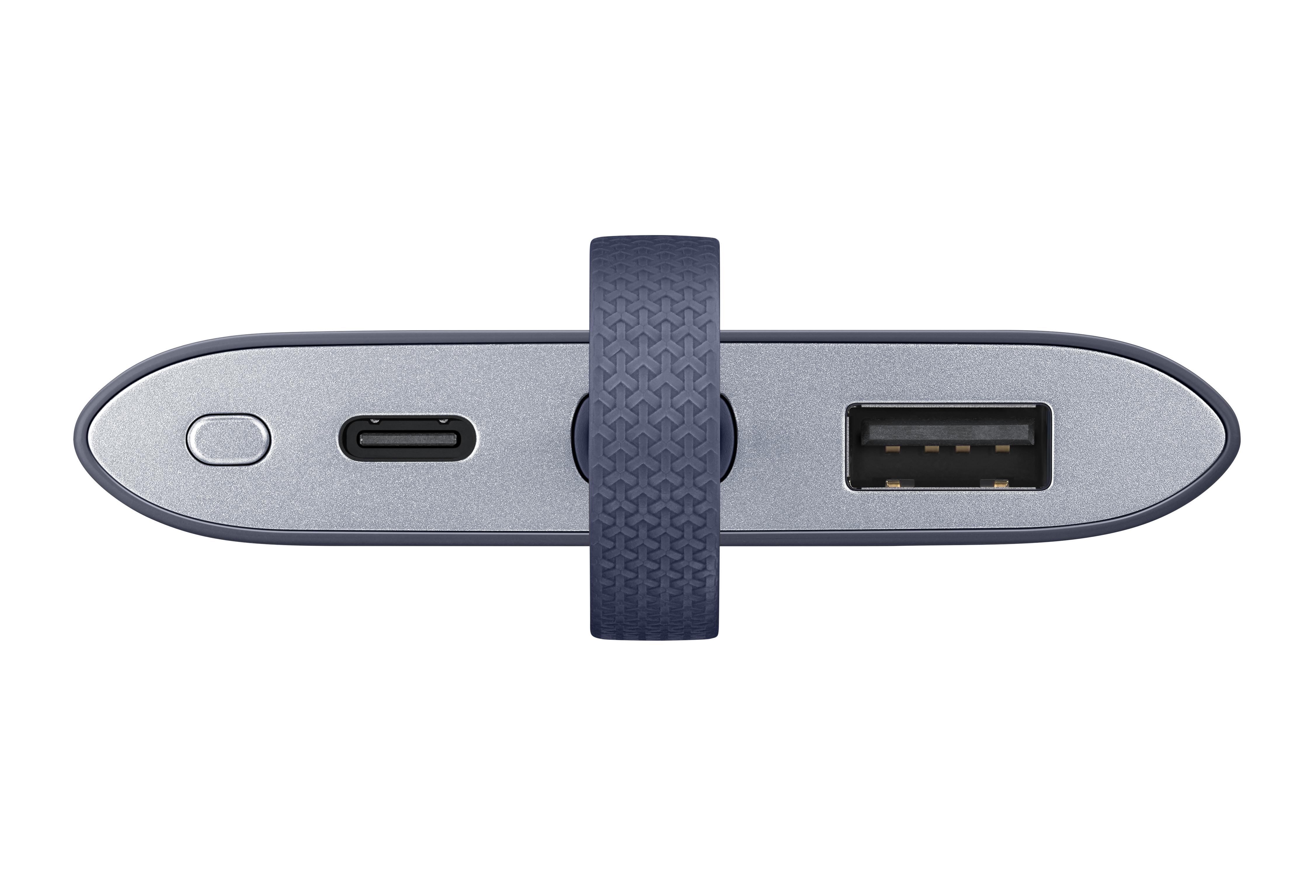 Batterie de secours Fast Charge 5100 mAh Samsung Bleu marine