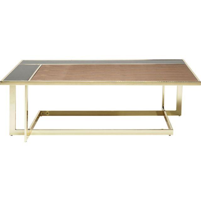Karedesign Table basse Sacramento rectangulaire 120x70cm Kare Design
