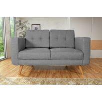 Modern Sofa - Canapé Hedvig 2 savana gris 21 pieds naturels sofa divan