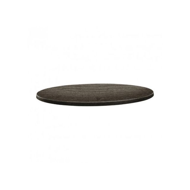 Topalit Plateau de table rond Timber - 700 mm - Timber 700 Ø, mm