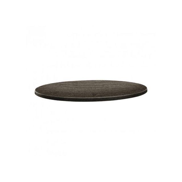 800 mm rond timber Plateau table de Line mnvwyN0O8
