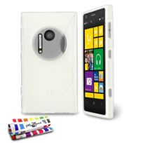 "Muzzano - Coque Souple Ultra-Slim ""Le S"" Premium Transparent pour Nokia Lumia 1020"