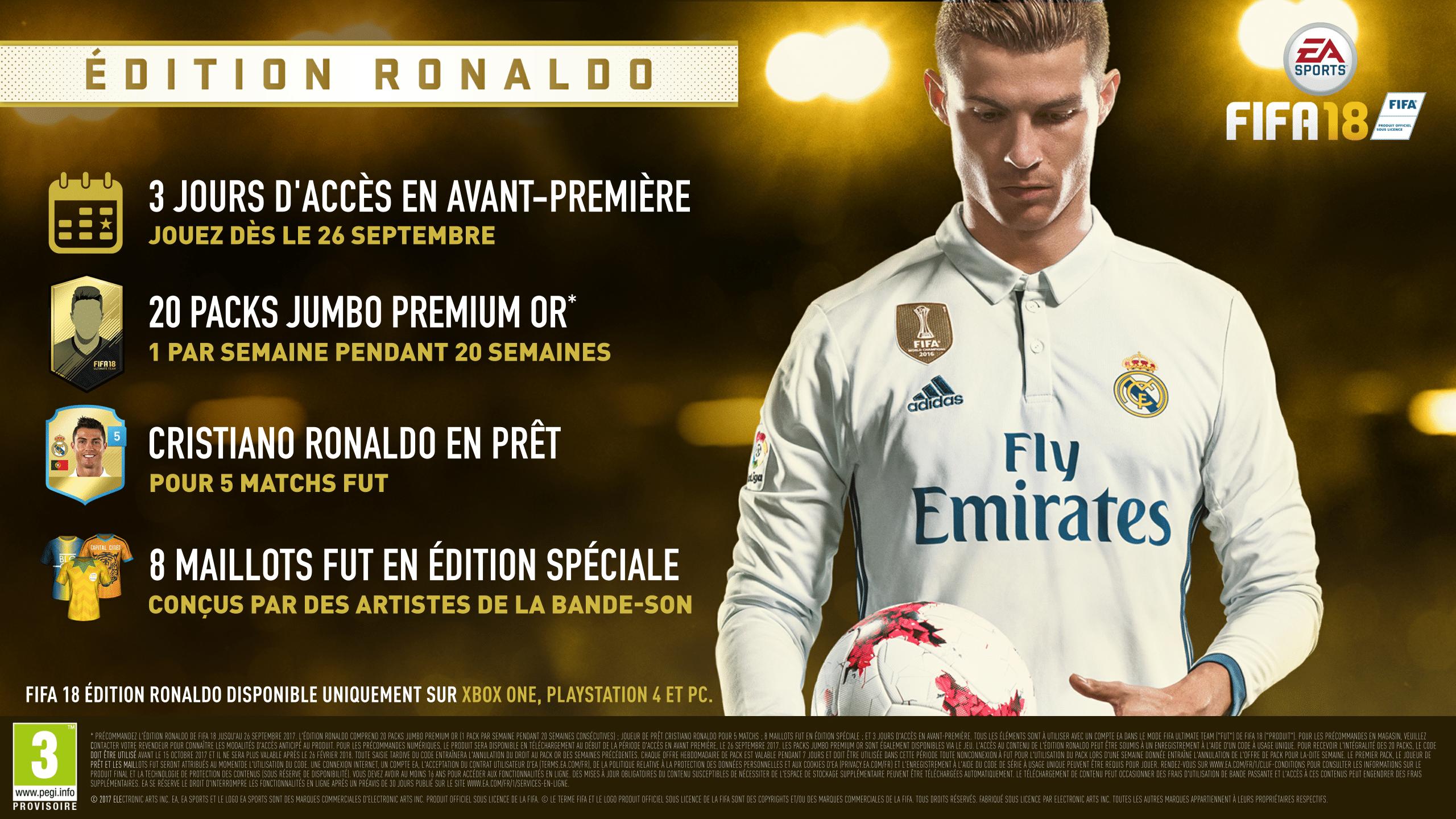 FIFA 18 - Édition Ronaldo - Xbox One