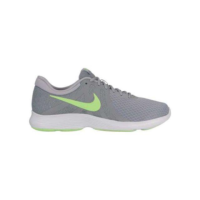 Revolution Vert Nike Gris Fluo 4 Pas Blanc Achat Chaussures Cher CrdeWoxB