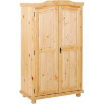 dressing bois massif achat dressing bois massif pas cher rue du commerce. Black Bedroom Furniture Sets. Home Design Ideas