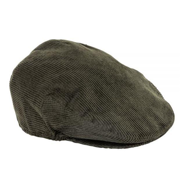 Blackfox - Casquette plate homme en coton Bristol - taille 59 - bouton  pression - kaki 798c89e17a4