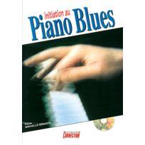 Play Music Publishing - Méthodes Et Pédagogie Minvielle-sebastia P Initiation Au Piano Blues + Cd - Piano Piano