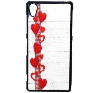 Lapinette - Coque Rigide Coeur Pour Sony Xperia Z5
