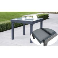 Table jardin carre 8 personnes achat table jardin carre 8 personnes pas che - Recouvrir une table en verre ...