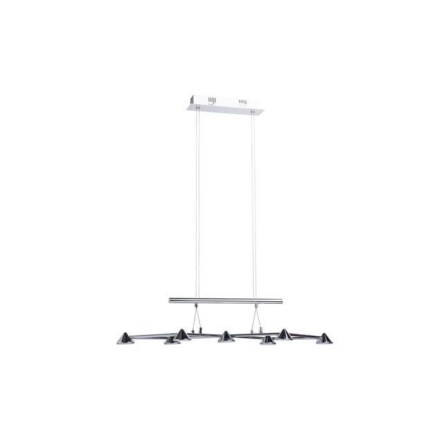 boutica design suspension techno argent 7x5w 632010807 mw light 632010807 pas cher. Black Bedroom Furniture Sets. Home Design Ideas